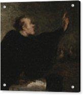 A Trial Lawyer, 1853-1854 Acrylic Print