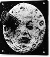 A Trip To The Moon, 1902  Acrylic Print