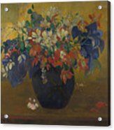 A Vase Of Flowers  Acrylic Print