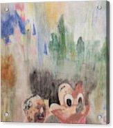 A Walk With Walt Acrylic Print