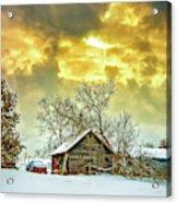 A Winter Eve Acrylic Print