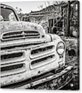 Abandoned Ghost Town Studebaker Truck Acrylic Print