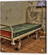 Abandoned Hospital Bed Acrylic Print