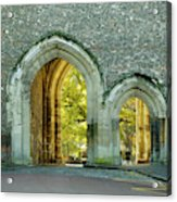 Abbey Gateway St Albans Hertfordshire Acrylic Print