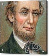 Abraham Lincoln 1809-1865 16th Acrylic Print