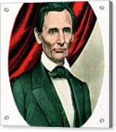 Abraham Lincoln 1809-65, C1865. Artist Acrylic Print