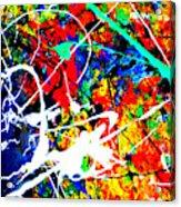 abstract composition K12 Acrylic Print