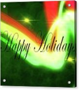 Abstract Holiday Acrylic Print