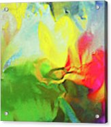 Abstract In Full Bloom Acrylic Print