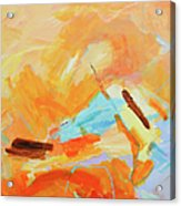 Abstract Oil Painting Acrylic Print