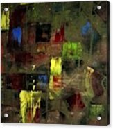 Abstract Patchwork Acrylic Print