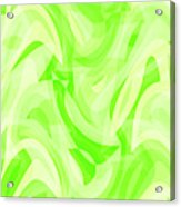 Abstract Waves Painting 0010076 Acrylic Print