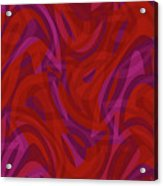 Abstract Waves Painting 0010080 Acrylic Print