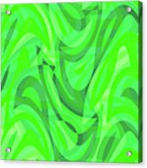 Abstract Waves Painting 0010082 Acrylic Print