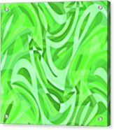 Abstract Waves Painting 0010086 Acrylic Print