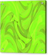 Abstract Waves Painting 0010093 Acrylic Print