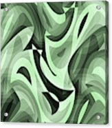 Abstract Waves Painting 0010095 Acrylic Print