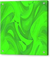 Abstract Waves Painting 0010100 Acrylic Print