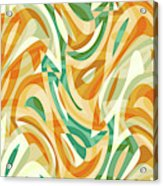 Abstract Waves Painting 0010105 Acrylic Print