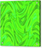Abstract Waves Painting 0010106 Acrylic Print