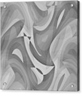 Abstract Waves Painting 0010119 Acrylic Print