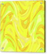 Abstract Waves Painting 0010121 Acrylic Print