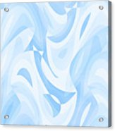 Abstract Waves Painting 007182 Acrylic Print