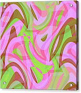 Abstract Waves Painting 007188 Acrylic Print