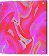Abstract Waves Painting 007190 Acrylic Print