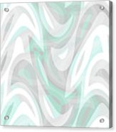 Abstract Waves Painting 007194 Acrylic Print
