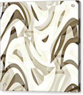 Abstract Waves Painting 007212 Acrylic Print