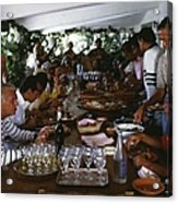Acapulco Lunch Acrylic Print