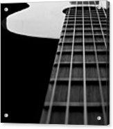 Acoustic Guitar Musician Player Metal Rock Music Lead Acrylic Print