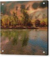 Across The Water Acrylic Print