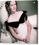 Actress Debbie Reynolds Acrylic Print