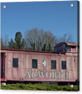 Acworth Ga Acrylic Print