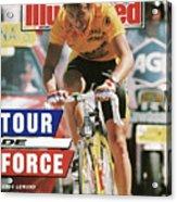 Adr Agrigel Greg Lemond, 1989 Tour De France Sports Illustrated Cover Acrylic Print
