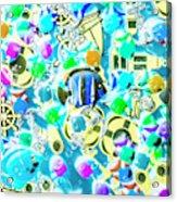 Adventures On Icon Reef Acrylic Print