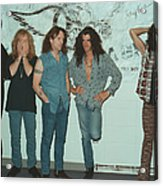 Aerosmith Backstage Portrait Acrylic Print