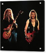 Aerosmith Performing In Mn Acrylic Print