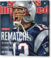 Afc Championship - Baltimore Ravens V New England Patriots Sports Illustrated Cover Acrylic Print