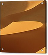 Africa, Namibia, Sand Dunes, Full Frame Acrylic Print