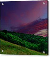 After The Storm Afterglow Acrylic Print