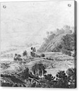 After The Tornado  Pavel Petrovich Svinin 1787 88-1839 Acrylic Print
