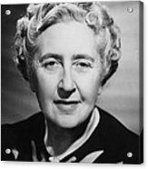 Agatha Christie Acrylic Print