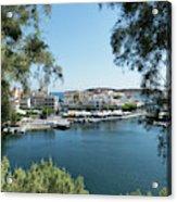 Agios Nikolaos Crete Acrylic Print