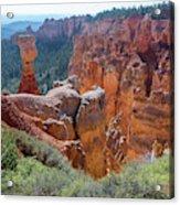Agua Canyon - Bryce Canyon - Utah Acrylic Print