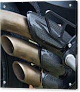 Agusta Racer Pipes Acrylic Print