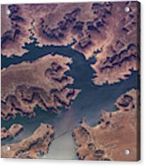 Air View Of Lake Powell Acrylic Print