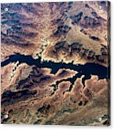 Air View Of The Grand Canyon Acrylic Print